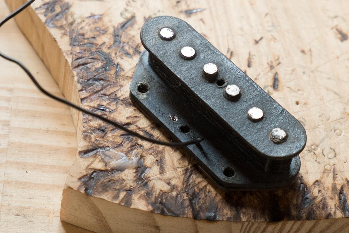 Réparation de micro de guitare électrique