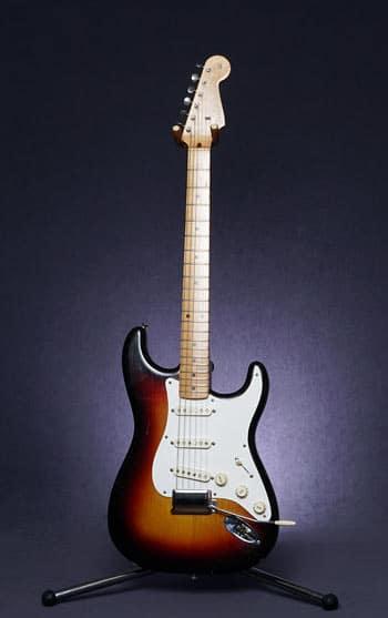 Stratocaster Sunburt touche érable de 1958
