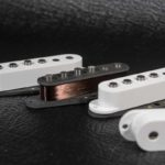 Micros Stratocaster Goldfingers WS5 Alnico 5 fil Plain enamel sans capot
