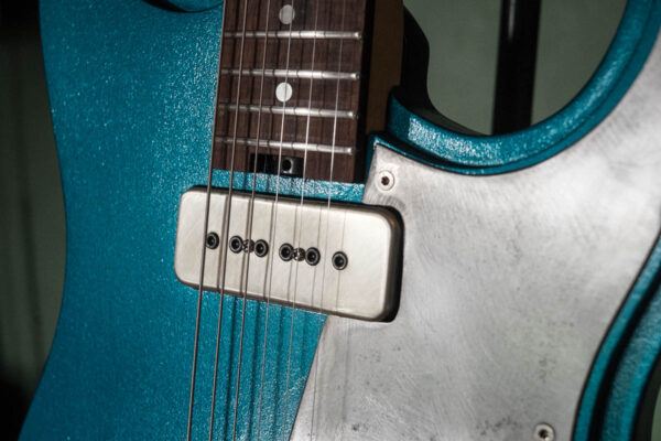 Fabrication guitare électrique - Cecca Charger S P90