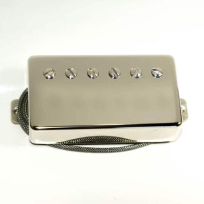 Humbucker capot Nickel
