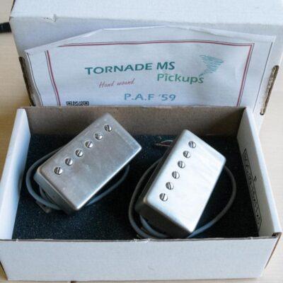 Set de 2 micro humbucker TOrnade MS Alnico 4 d'occaion