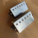 Gibson 490R et 490T raw nickel/argent