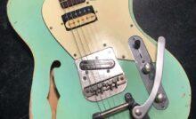 Alnico V Micro pour guitare /électrique Single Coil Pickup Aimant Rouge /à l/èvres pour guitare ST argent/é