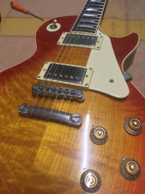 Custom bucker ALnico 3 Mayback lester 58