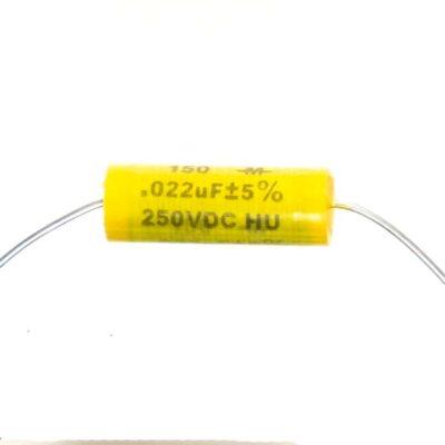Condensateur Mallory Mustard 22µf 250v