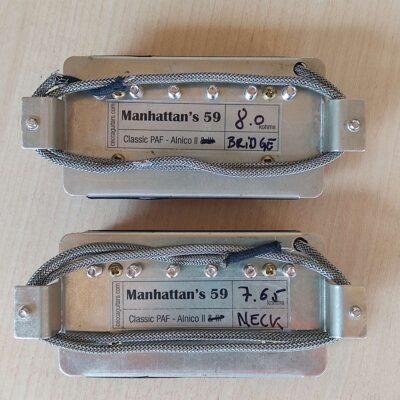 Manhattan's 59 Alnico 2 & 3 PAF Humbucker