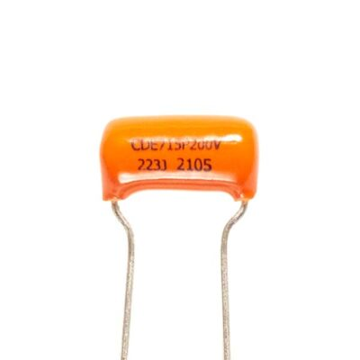 Condensateur Sprague Orange Drop 22µf 200V