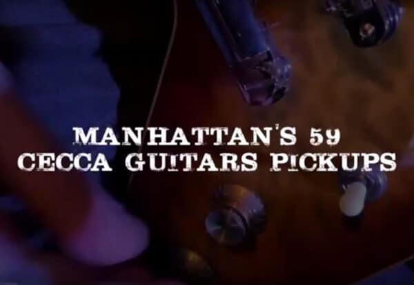 Vidéo Jerry T Manhattan's 59 PAF humbucker