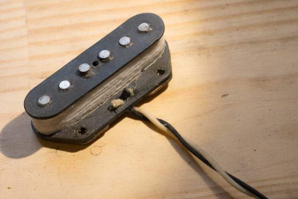réparation micro guitare electrique telecaster