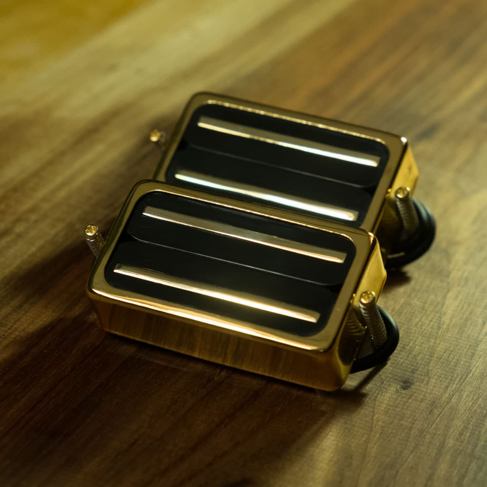 Blade Runner gold - Rail hi gain humbucker